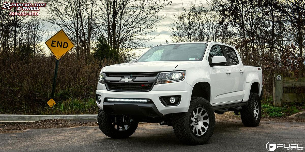 Chevrolet Colorado Fuel Vector D580 Wheels Brushed Face ...