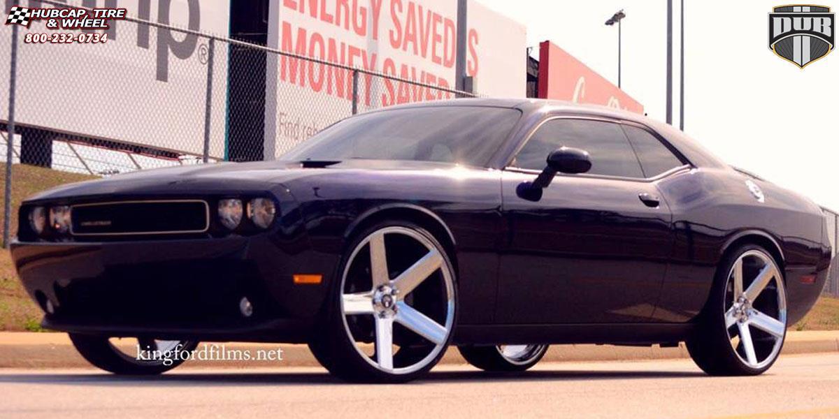 Dodge Challenger 24 Inch Rims >> Dodge Challenger Dub Baller - S115 Wheels Chrome