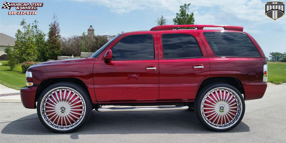 Chevrolet Tahoe Dub S723-Boogee Wheels Chrome