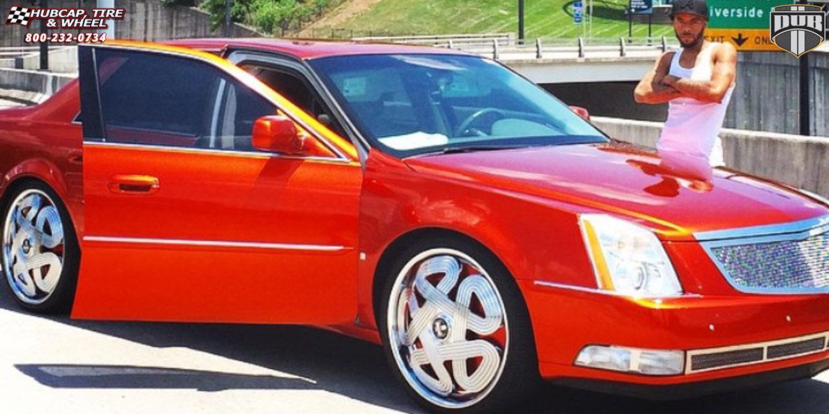 Cadillac Dts Dub S741 Markee Wheels Chrome