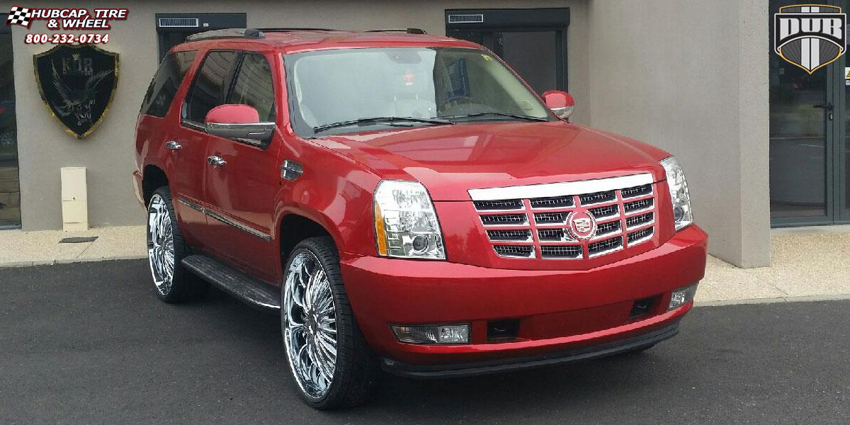Cadillac Escalade Dub Suave - S140 Wheels Chrome