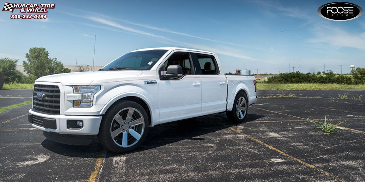 2015 Ford F 150 Foose Switch F157 Wheels Chrome