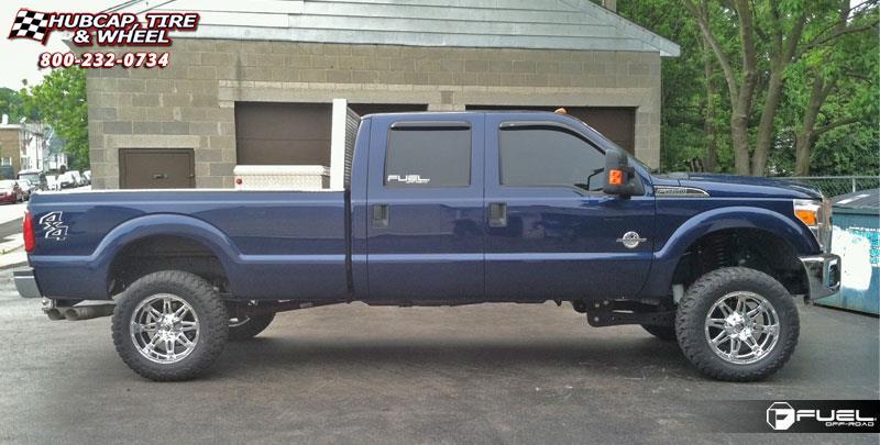ford   super duty fuel hostage  wheels chrome