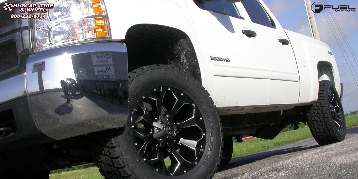 Chevrolet Silverado 1500 Fuel Assault D546 Wheels Black ...