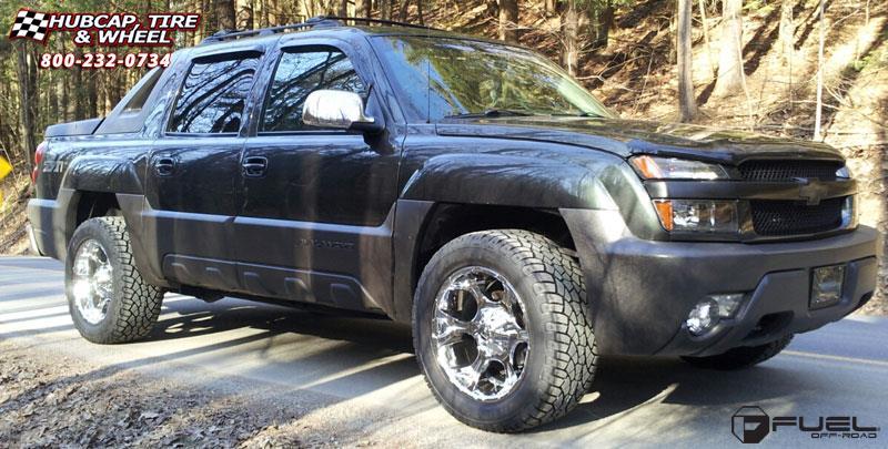 Chevrolet Avalanche Fuel Dune D522 Wheels Chrome