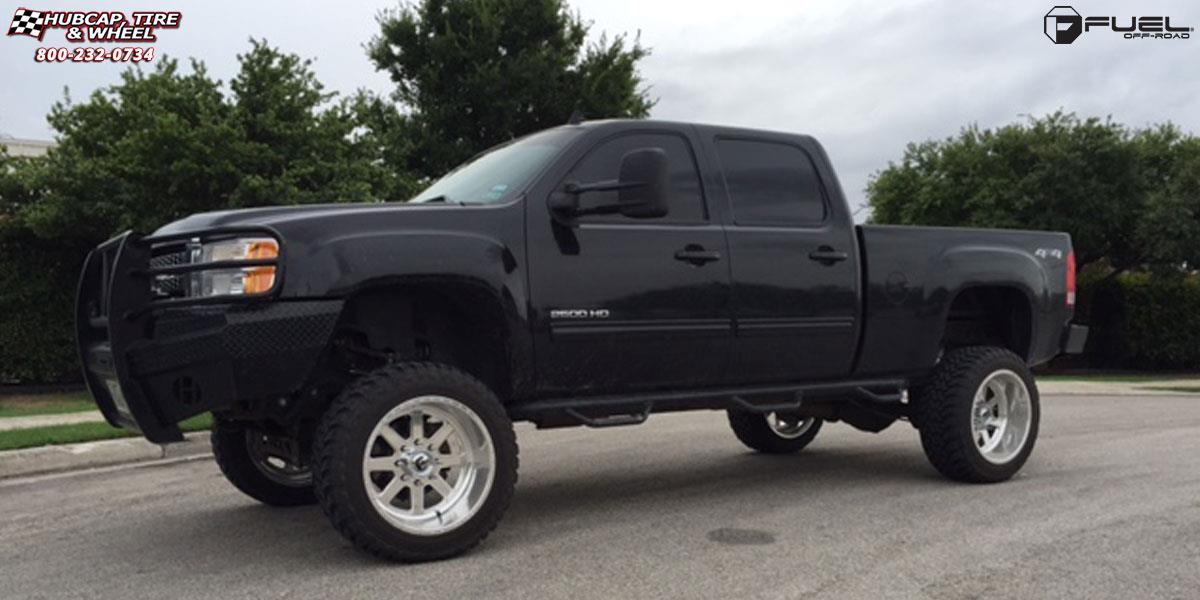 2002 Toyota Tacoma Lifted >> GMC Sierra 1500 Fuel Forged FF09 Wheels Polished or Custom Painted