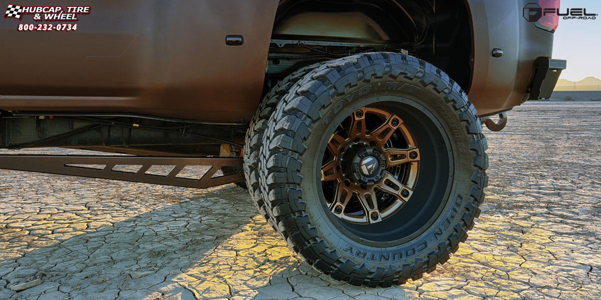Chevrolet Silverado 3500 Dually Fuel Hostage II Dually Front D232 Wheels Custom