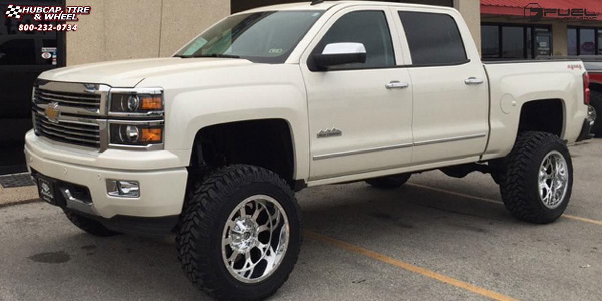 Chevrolet Silverado 1500 Fuel Krank D516 Wheels Chrome