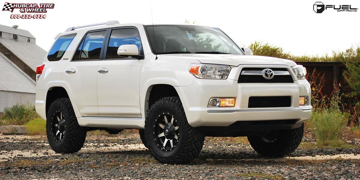 Toyota 4runner Fuel Maverick D537 Wheels Matte Black