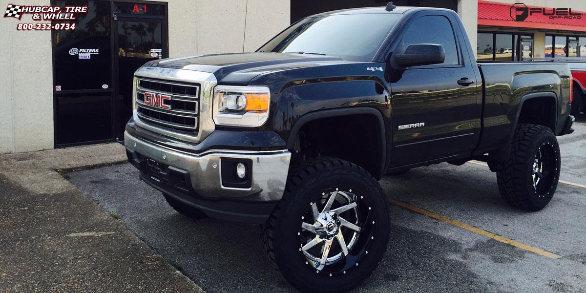 Gmc Sierra  Fuel Renegade D Wheels Chrome Center
