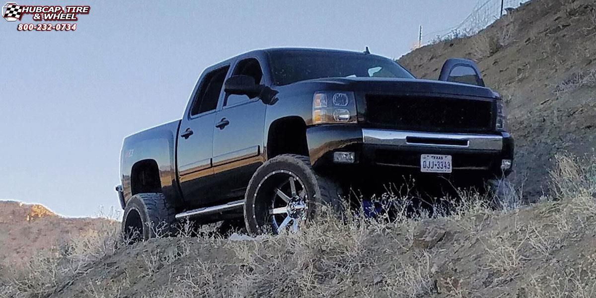 Chevrolet Silverado 1500 Fuel Maverick D260 Wheels Chrome ...