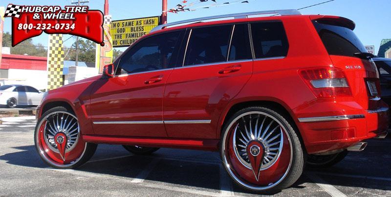 Mercedes benz glk dub s602 azzmacka wheels chrome for Mercedes benz accessories glk350