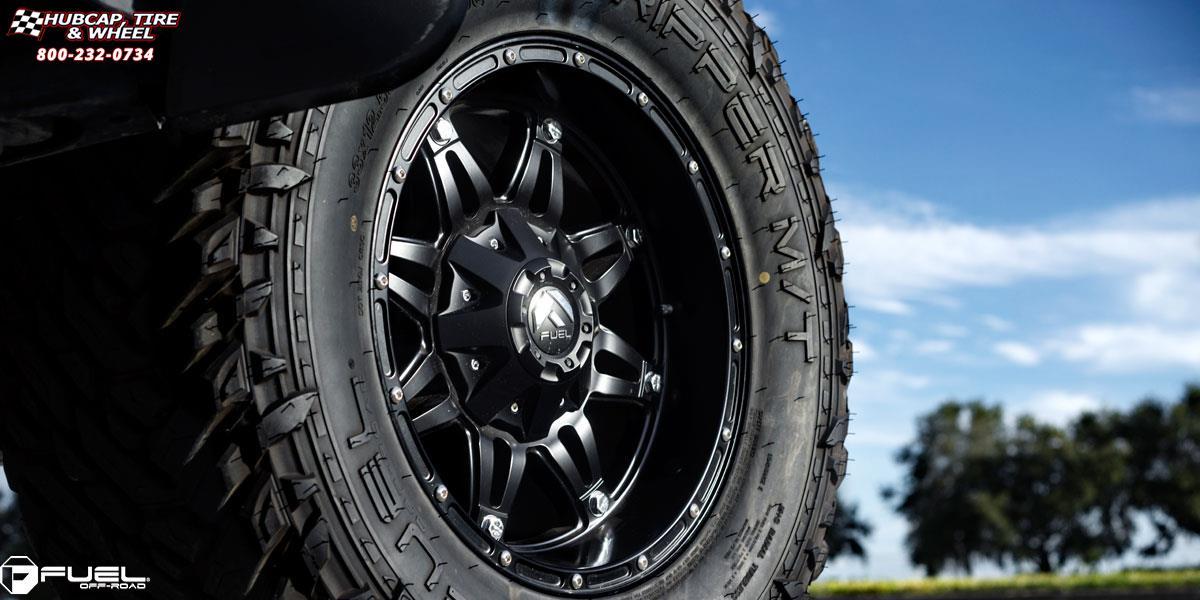 Hubcap Tire And Wheel >> Toyota FJ Cruiser Fuel Hostage D531 Wheels Matte Black