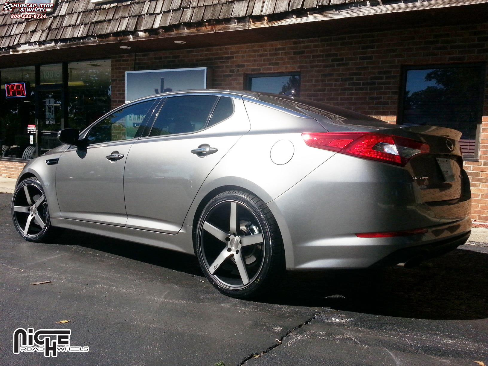 Kia Optima Niche Milan M134 Wheels Black Amp Machined With