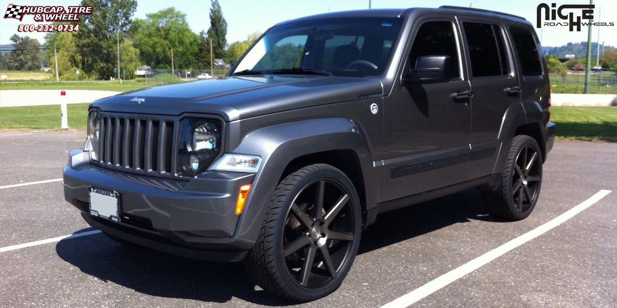 jeep liberty niche verona m150 wheels black machined. Black Bedroom Furniture Sets. Home Design Ideas