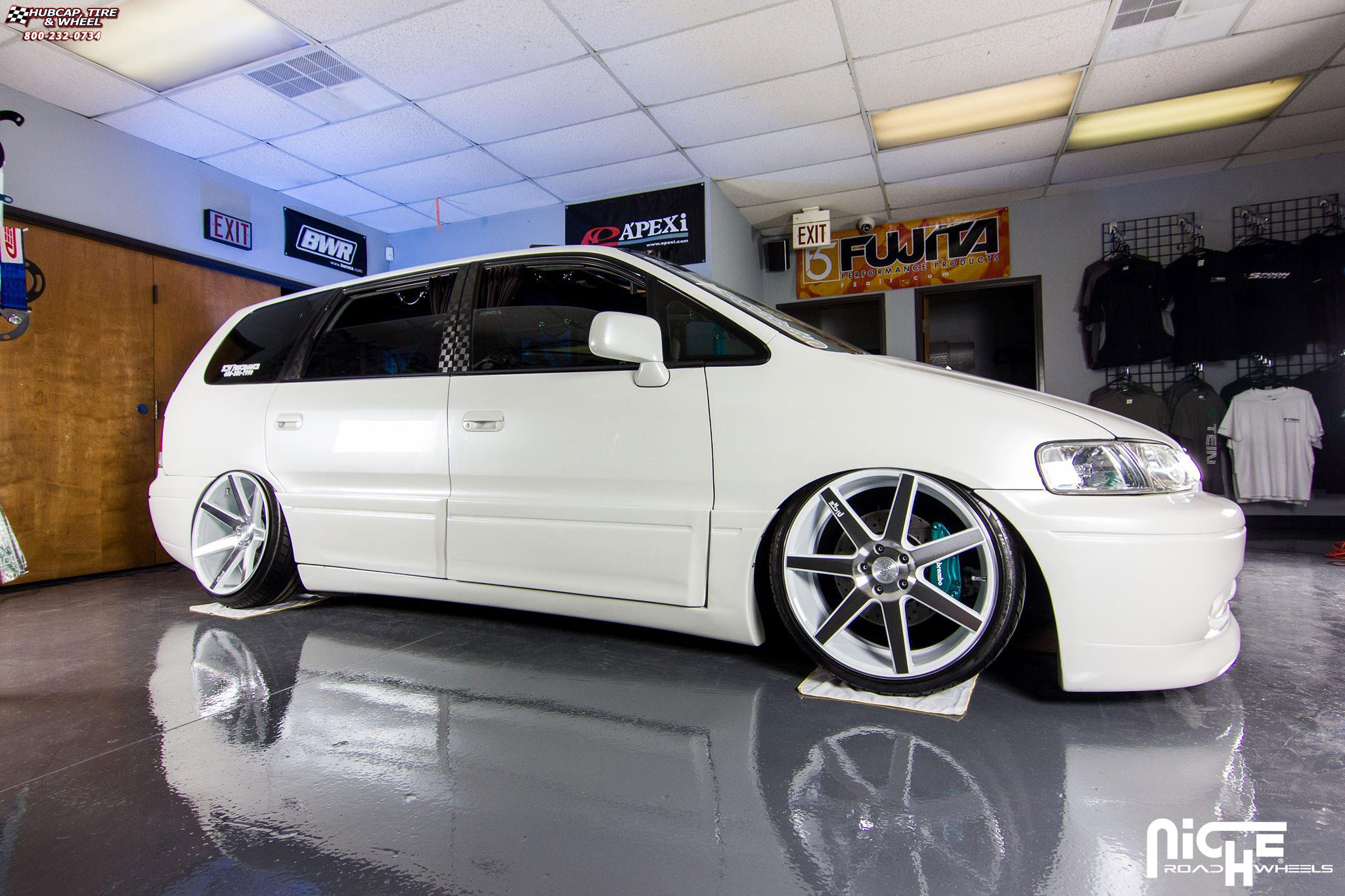 Honda Odyssey Niche Verona M151 Wheels Gloss White Amp Machined