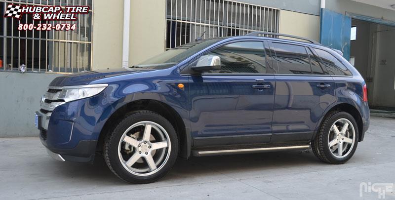 Ford Edge Niche Nurburg - M880 Wheels Matte Black / Black ...