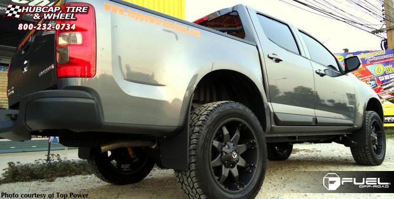 colorado fuel octane wheels d509 chevrolet tire wheel rims matte hubcap