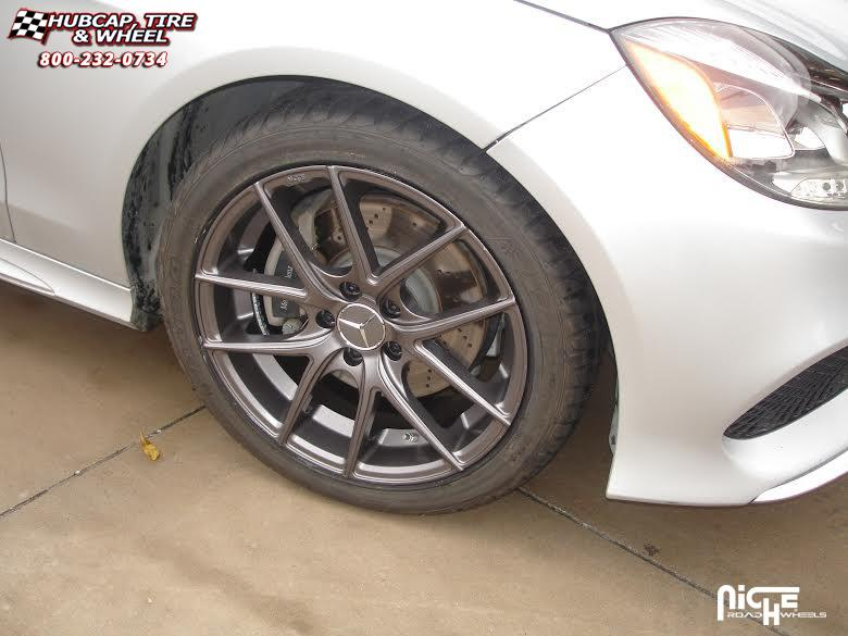 Mercedes benz c350 niche targa m129 wheels anthracite for Mercedes benz wheel and tire protection
