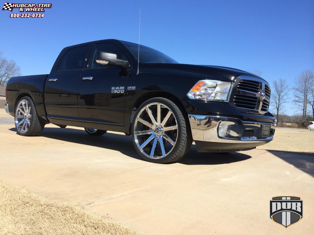 Dodge Ram 1500 Dub Shot Calla - S120 Wheels Chrome