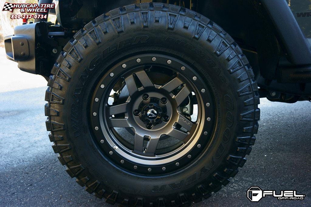 Jeep Wrangler Fuel Anza D558 Wheels