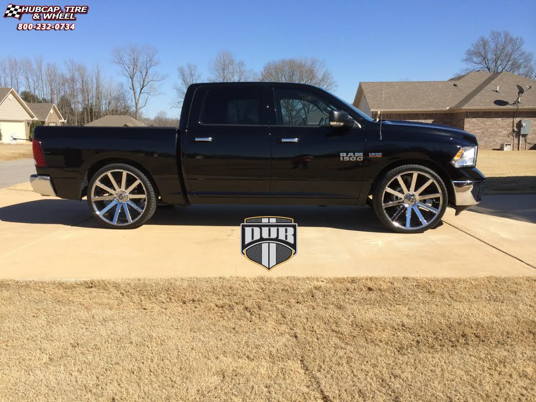 Dodge Ram 1500 Dub Shot Calla S120 Wheels Chrome