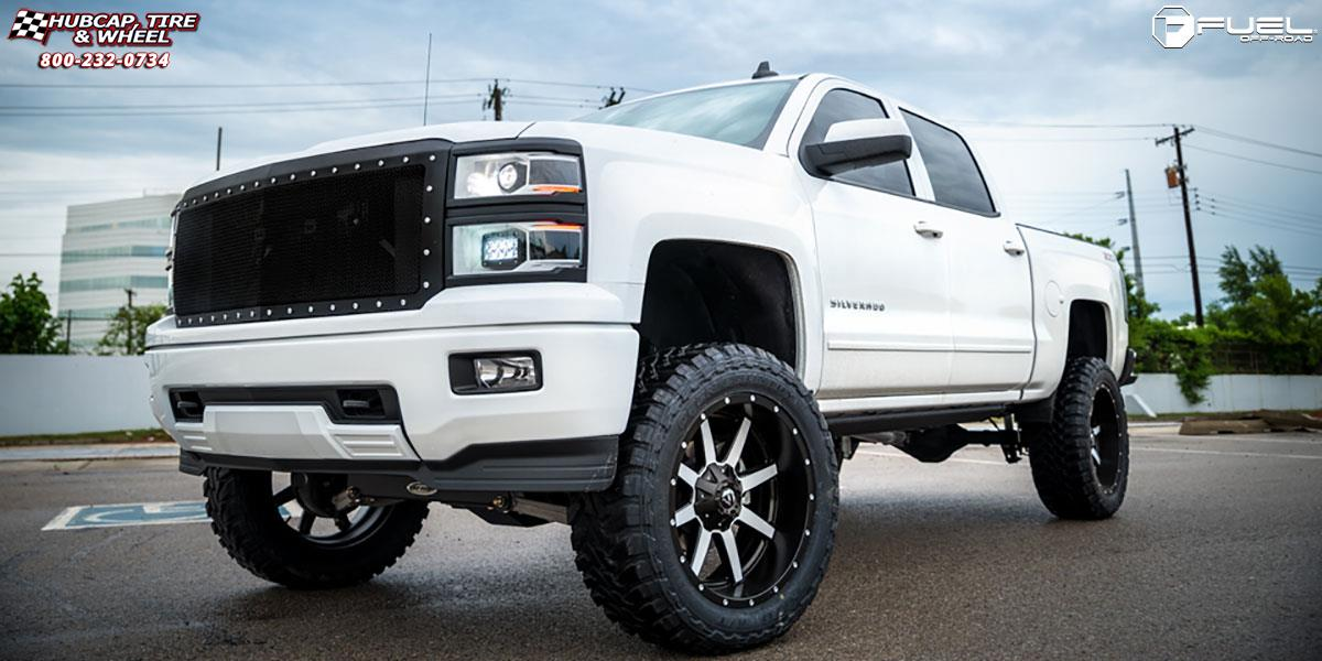 Chevrolet Silverado 1500 Fuel Maverick D537 Wheels Matte
