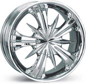 15x6.5 Limited 359 Chrome FWD