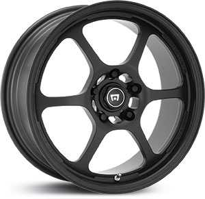 15x7 Motegi Traklite 2.0 Forged Black / Teflon Coated HPO