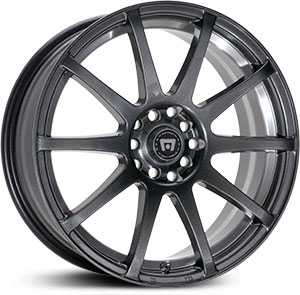 18x8 Motegi SP10 Matte Black HPO