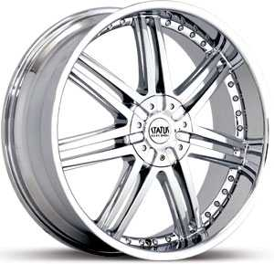 20x8.5 Status Game 805 Chrome HPO