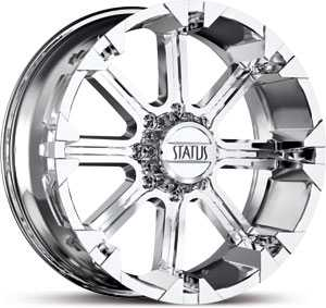 17x8 Status Cannon 813 Chrome REV