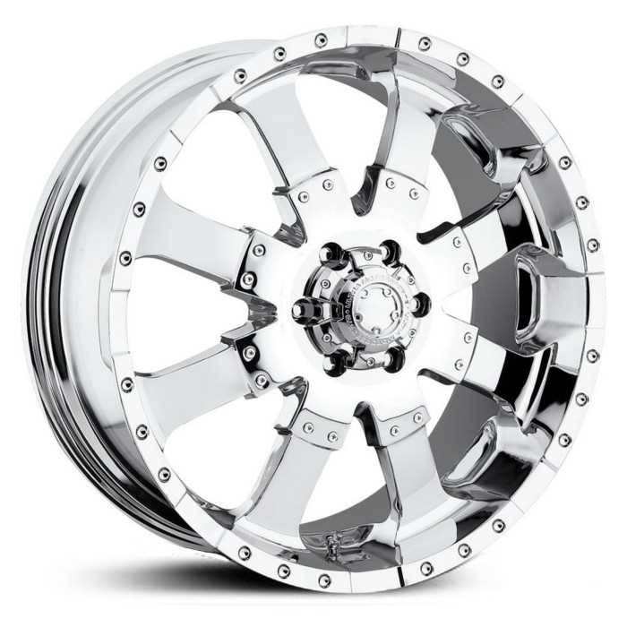 Ultra 223/224C Goliath  Wheels Chrome
