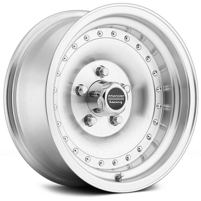 15x8 American Racing Outlaw I AR61 Machined REV