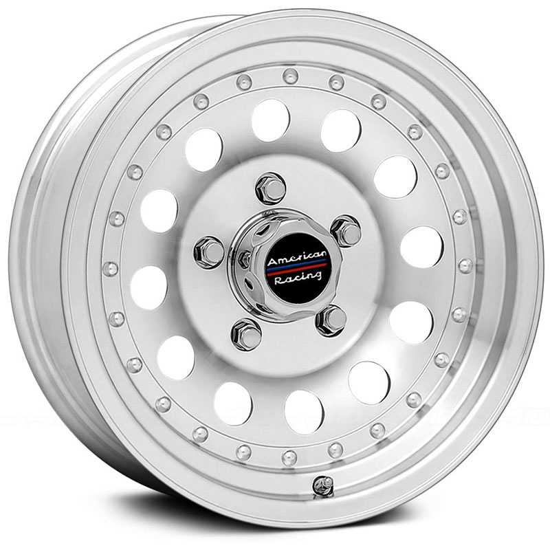 16x7 American Racing Outlaw II AR62 Machined REV