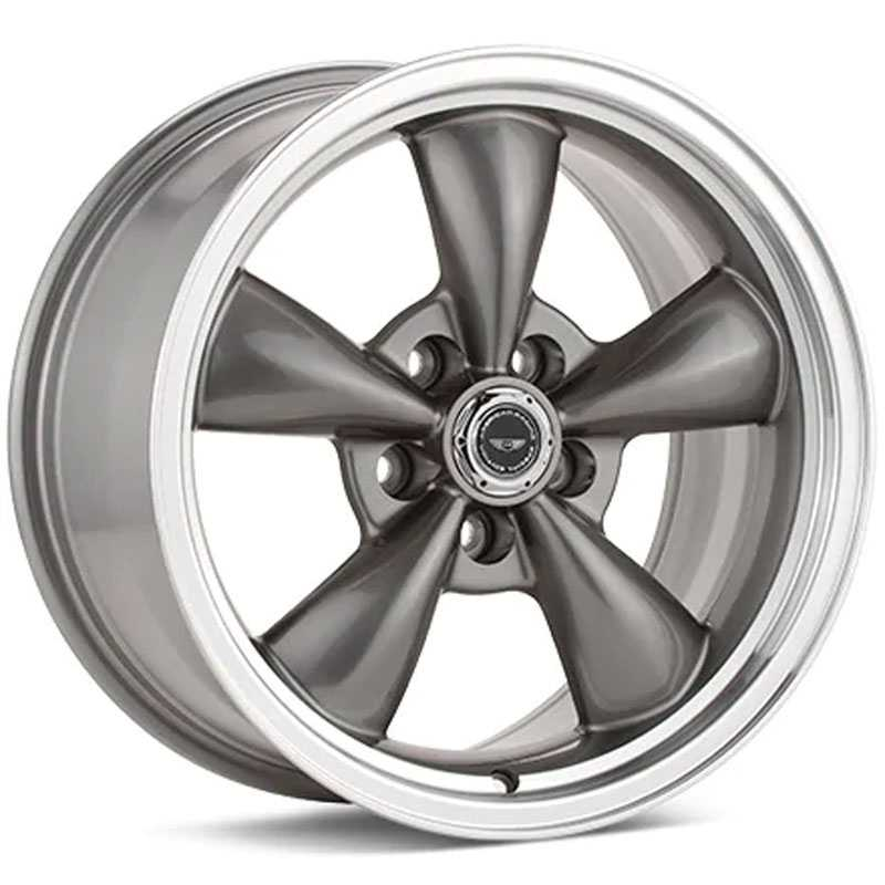 American Racing Shelby Torq Thrust M AR105M  Wheels Anthracite w/ Machined Lip