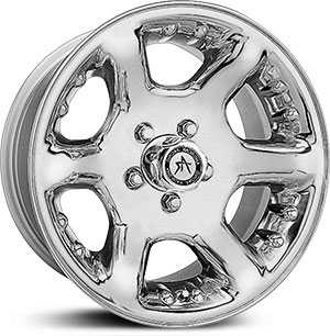 15x7 American Racing Atlas Chrome MID
