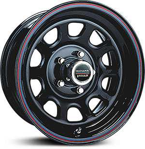 15x8 American Racing AR767 Glossy Black LOW