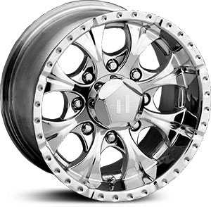 HE791 Maxx 8 Lug Chrome