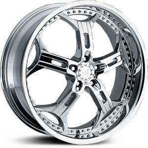 22x9.5 Helo 834 Chrome HPO