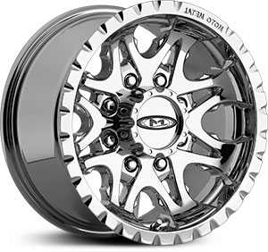 18x9 Moto Metal 950 Chrome REV