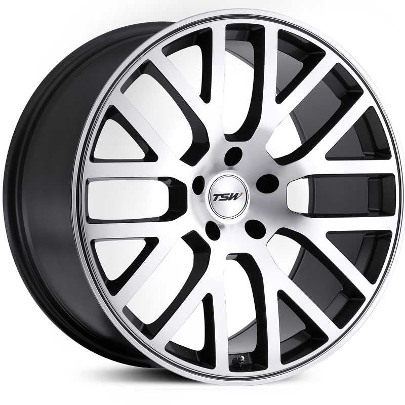 TSW Donington  Wheels Gunmetal w/ Mirror Lip