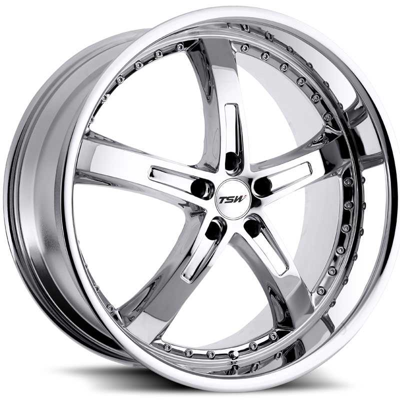 TSW Jarama  Wheels Chrome