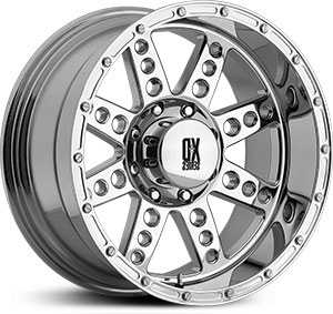 17x9 XD Series Diesel Chrome RWD