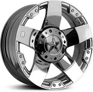 20x10 XD Series Rockstar XD775 Chrome REV
