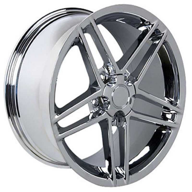 Corvette C6 Z06 Style (CV07)  Wheels Chrome