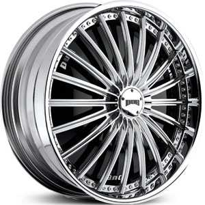 Dub Roulette Spinner  Wheels Chrome