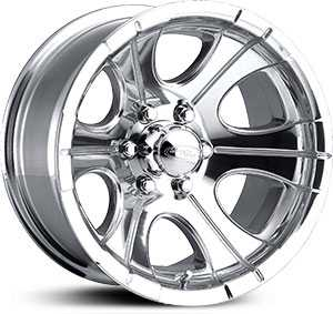 16x7 Eagle Alloy 135 Polished NEG