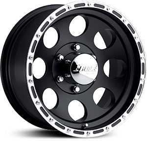 16x10 Eagle Alloy 185 Black REV