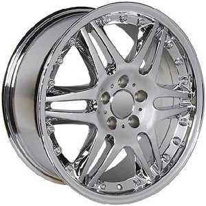 18x9.5 Mercedes Benz MB09 Replica Chrome HPO